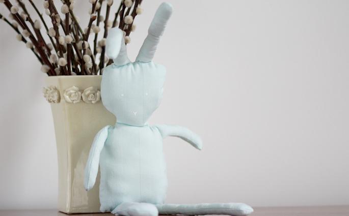 DIY: Osterhase nähen | we love handmade
