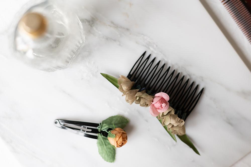 Haarspangen mit Blumen | we love handmade