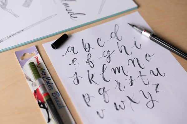 Pentel Arts Color Brush Pen | we love handmade