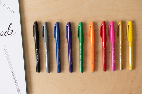 Pentel Touch Brush Pen | we love handmade