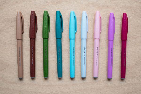 Pentel Touch Brush Pens: neue Farben | we love handmade