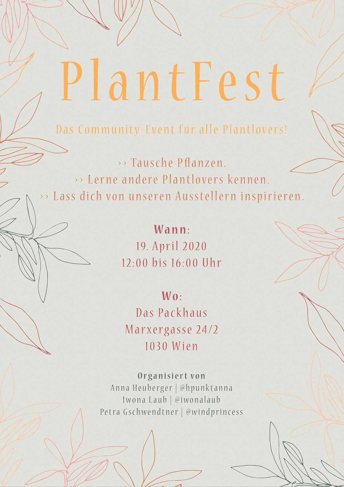 PlantFest Flyer 2020  we love handmade