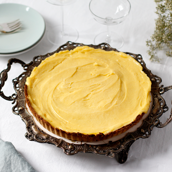 Rezept: Lemon Curd Tarte glutenfrei | we love handmade