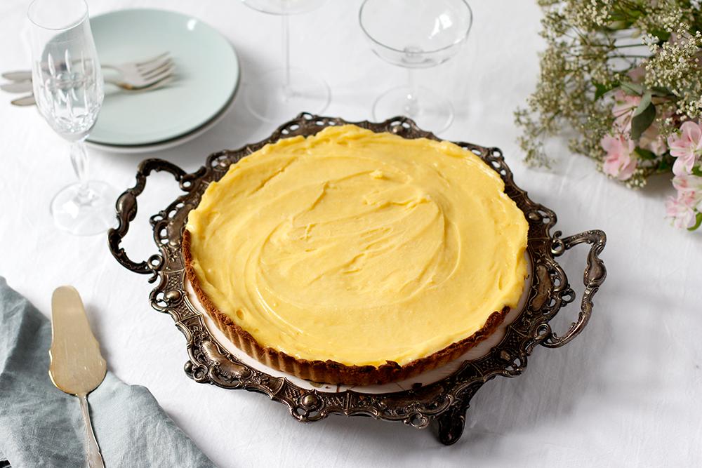 Rezept: Lemon Curd Tarte glutenfrei | we love handmade