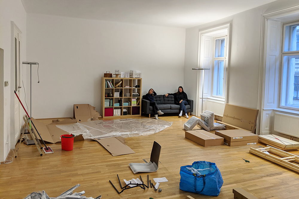 we love handmade STUDIO: Aufbau