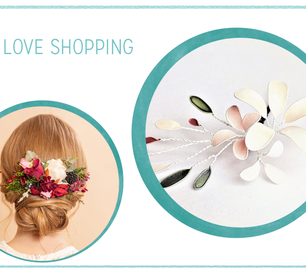 we love Shopping: Haarschmuck mit Blumen | we love handmade