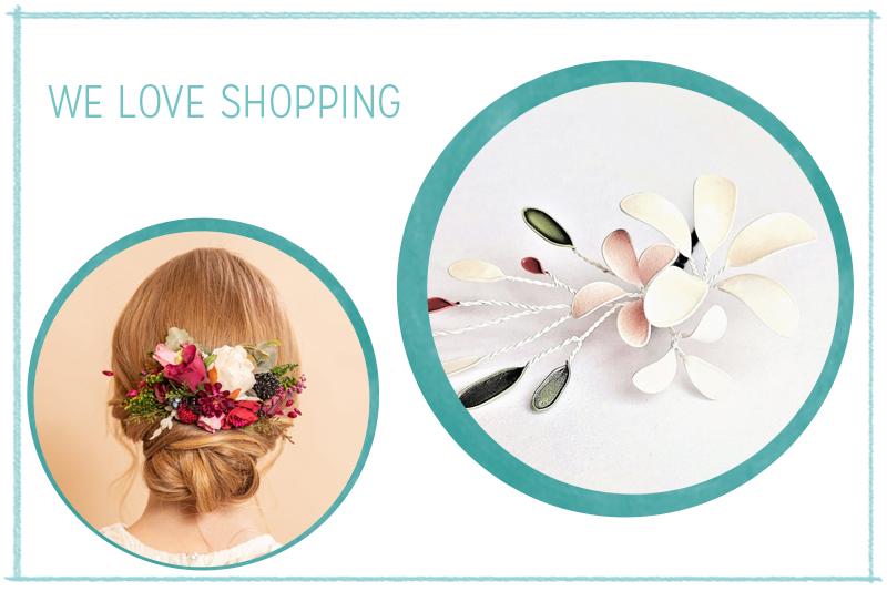 we love Shopping: Haarschmuck mit Blumen | we love handmade