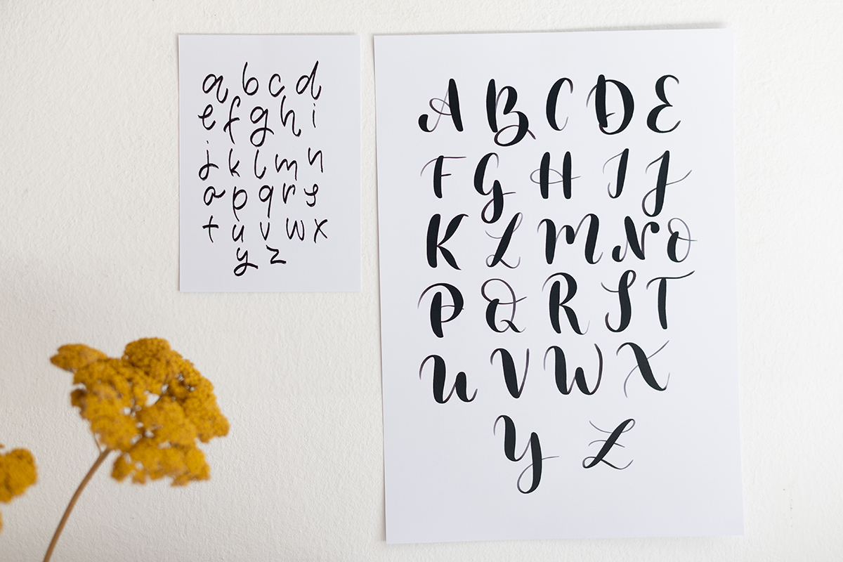 Alphabete Printable: Download | we love handmade