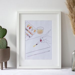 Aquarell Artprint Printable | we love handmade