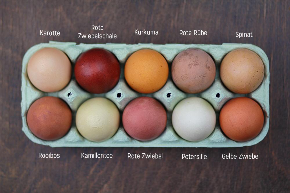 Eierfärbe Guide | we love handmade