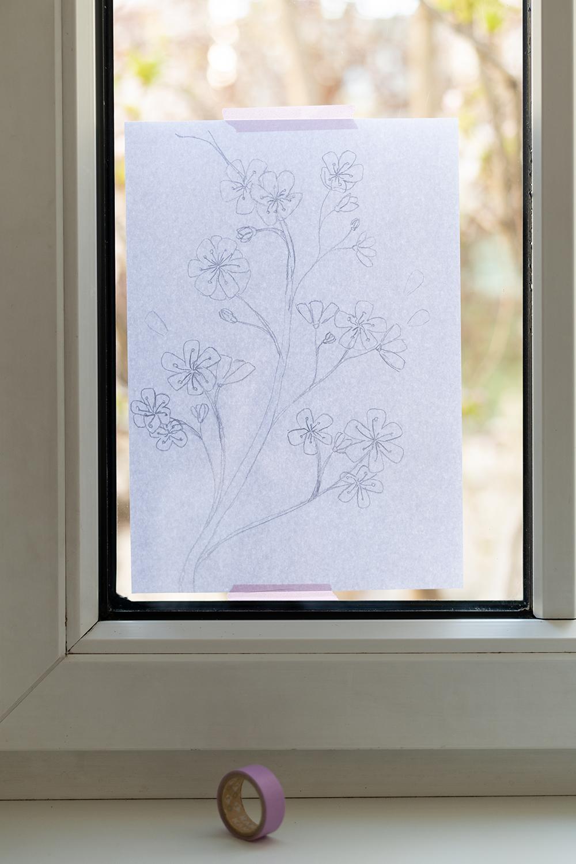Fenster bemalen DIY | we love handmade
