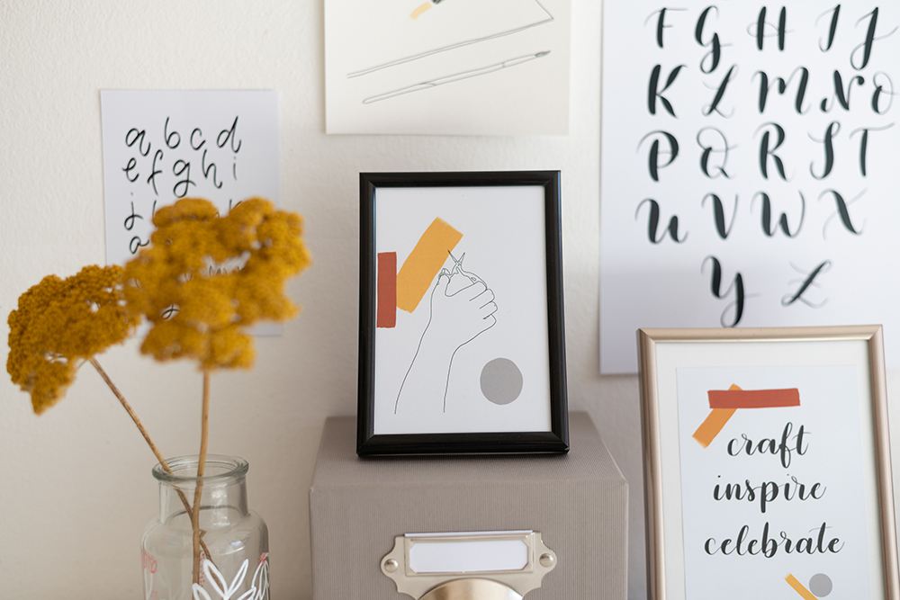 Illustrationen & Letterings | we love handmade
