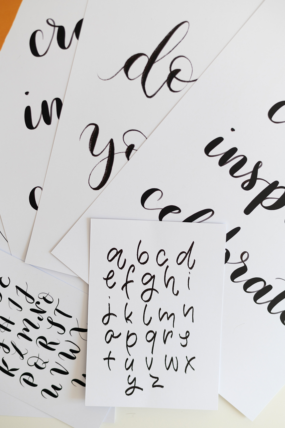 Lettering-Bundle: Download | we love handmade