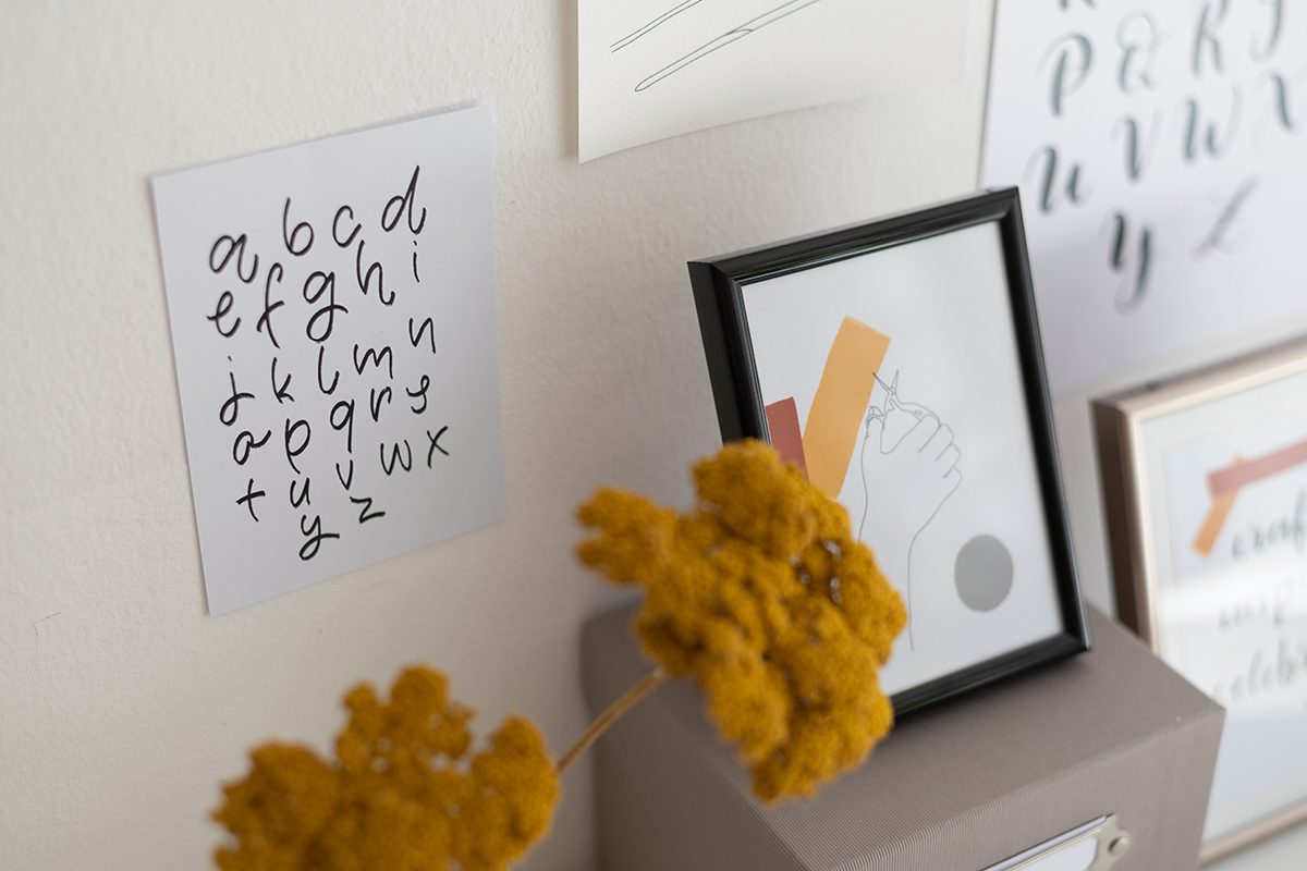 Letterings: Printables | we love handmade
