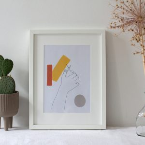 Schere Abstract Artwork: Printable | we love handmade