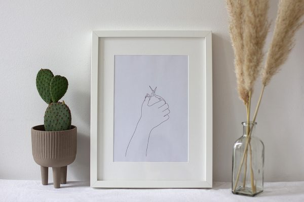 Schere: Artwork Printable | we love handmade