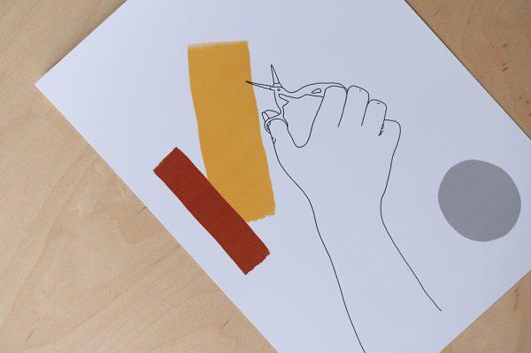 Schere: Illustration | we love handmade