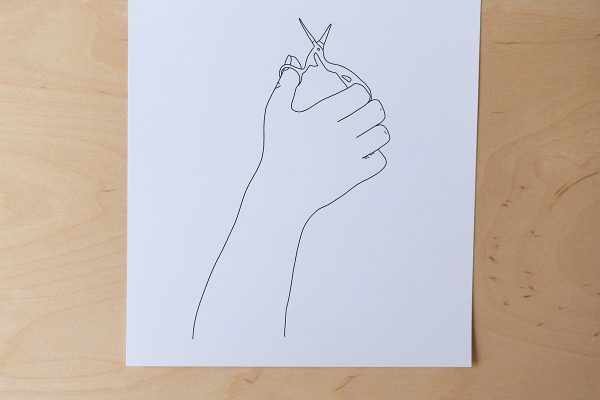 Scheren: Illustration Minimal | we love handmade