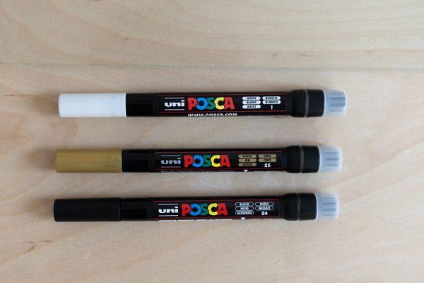 Uni Posa Brush Pen Kreidemarker | we love handmade