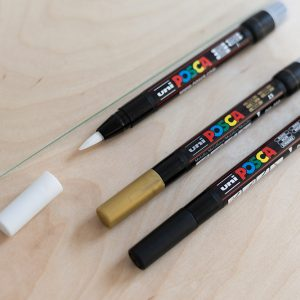 Uni Posca Brush PCF-350 | we love handmade