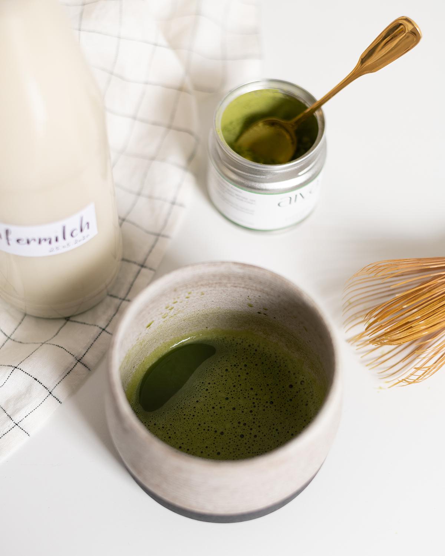 Matcha Latte Rezept | we love handmade