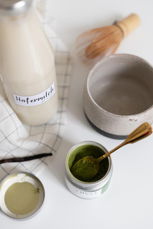 Matcha Latte Zutaten | we love handmade