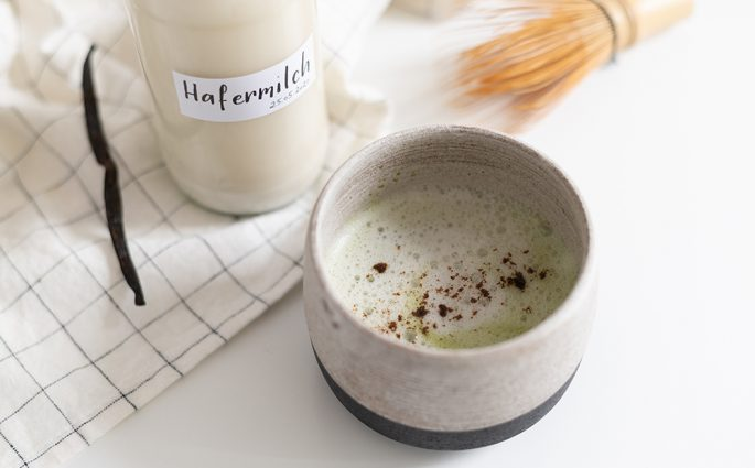 Rezept: Vanilla Matcha Latte | we love handmade