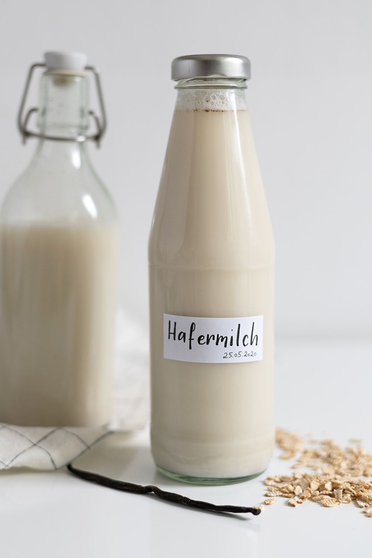 Selbstgemachte Hafermilch | we love handmade