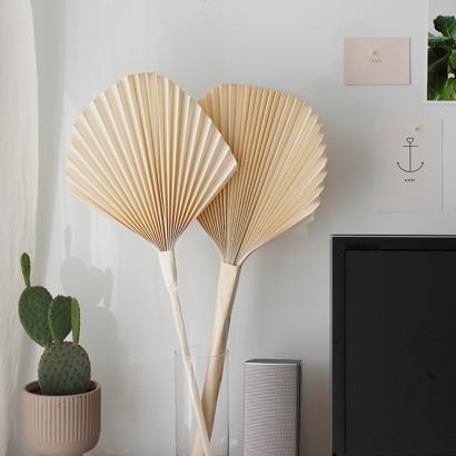 DIY: Getrocknete Palmwedel Papier   we love handmade