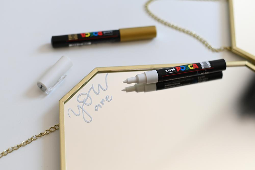 DIY: Spiegel beschriften | we love handmade