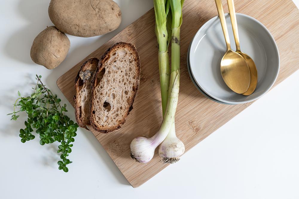 Knoblauchsuppe vegan: Rezept | we love handmade
