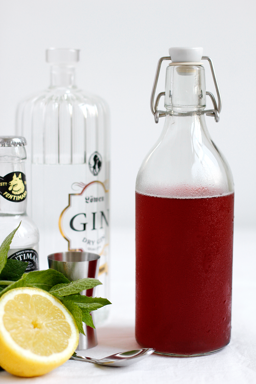 Drink: Kombucha Gin Tonic Cocktail | we love handmade