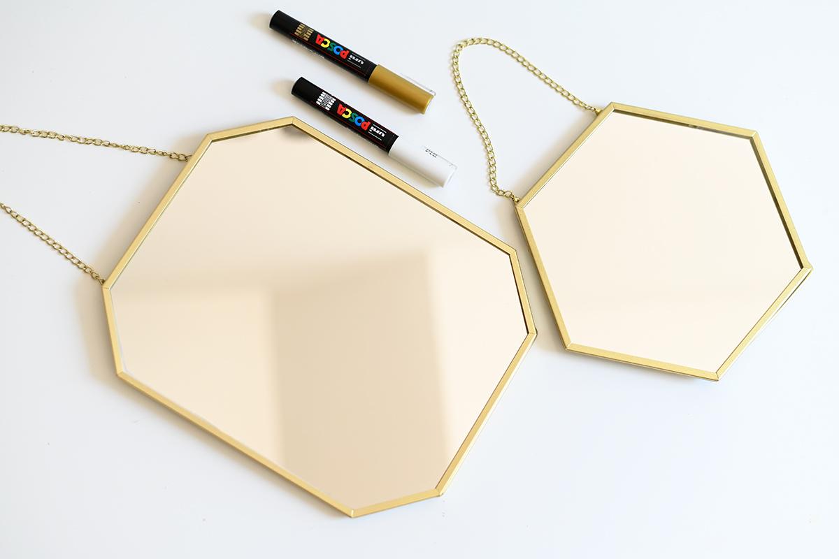 Spiegel beschriften: DIY-Material | we love handmade