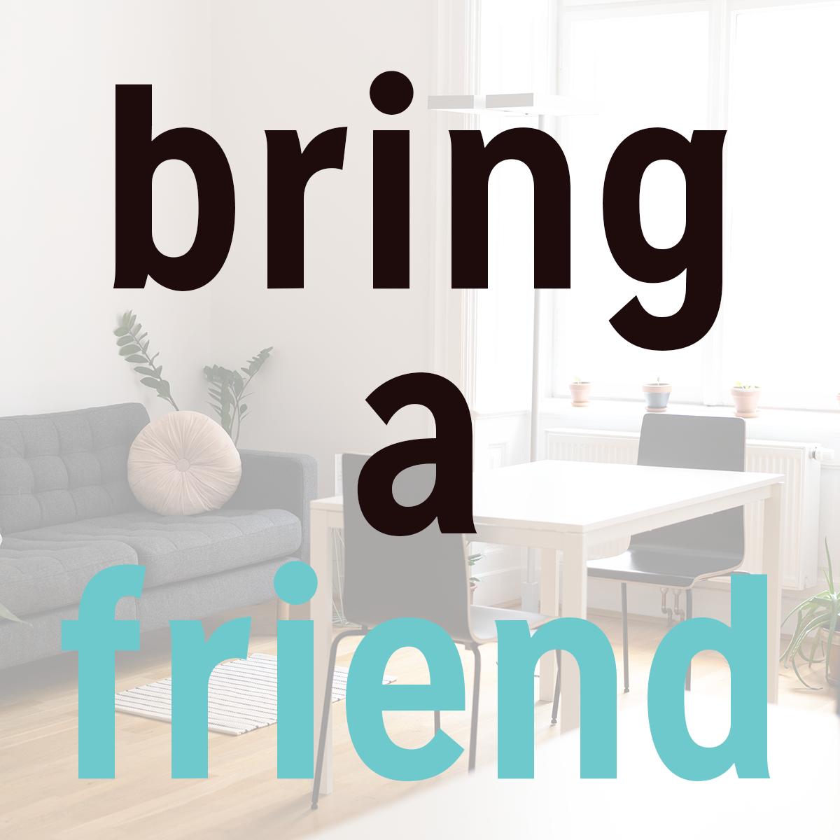 WS-Special: Bring a friend