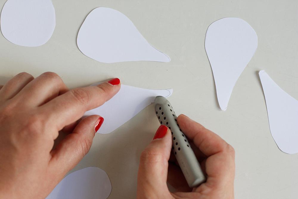 DIY: Magnolien aus Papier selbermachen | we love handmade
