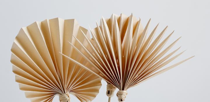 DIY: Palmwedel als Cocktailstab