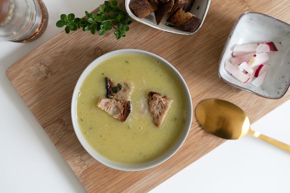 vegane Knoblauchsuppe | we love handmade