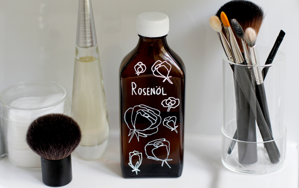 Beauty-DIY: Rosen Massageöl | we love handmade