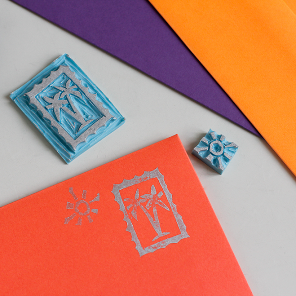 DIY: Stempeldruck Post | we love handmade