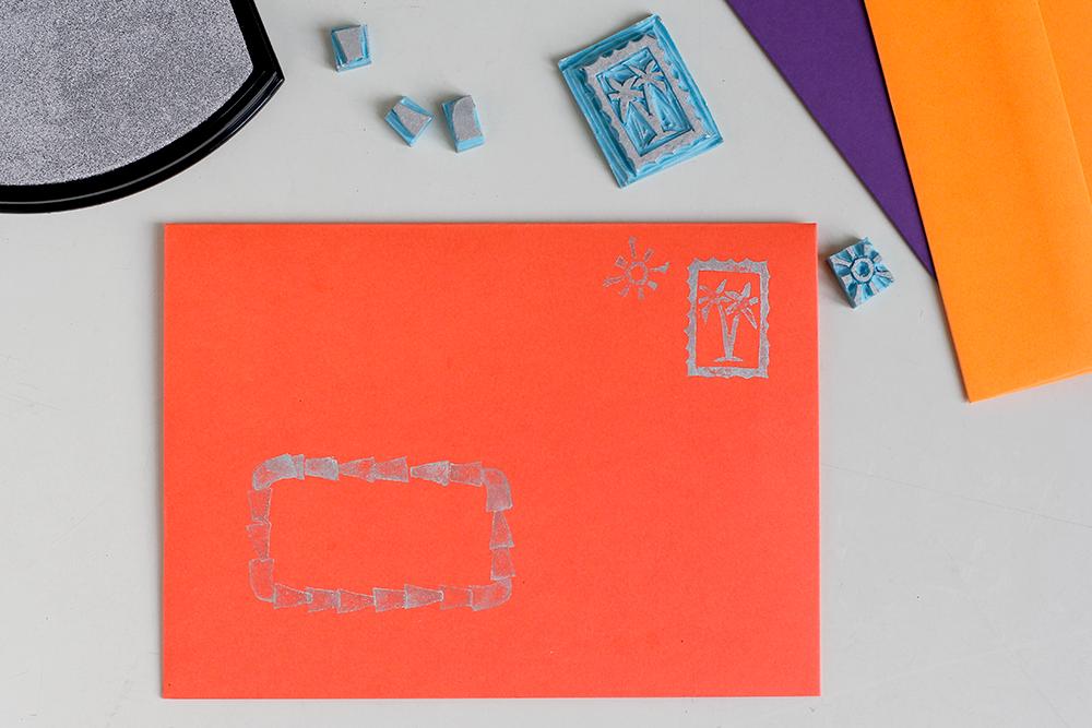 DIY: Stempeldruck Stempel selber schnitzen | we love handmade