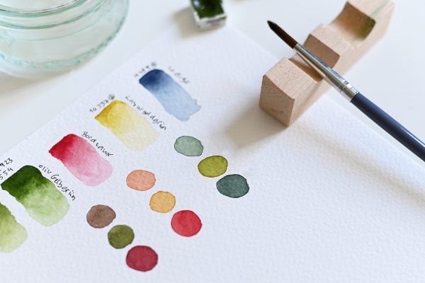 Farben mischen: Aquarellmalerei-Workshop | we love handmade