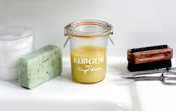 Beauty-DIY: Handcreme mit Ringelblume | we love handmade