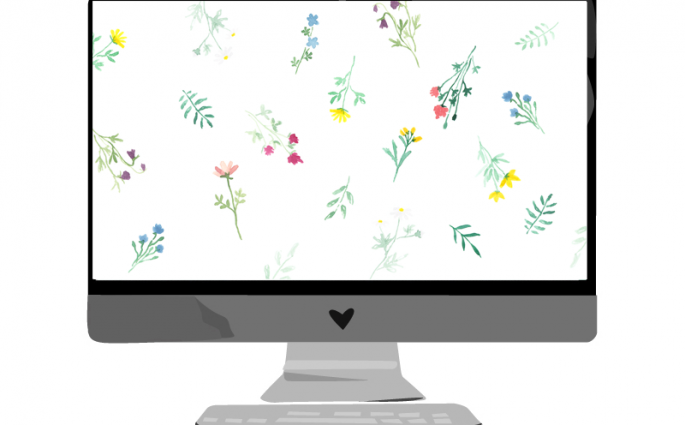 Juli-Wallpaper: Blumenwiese | we love handmade