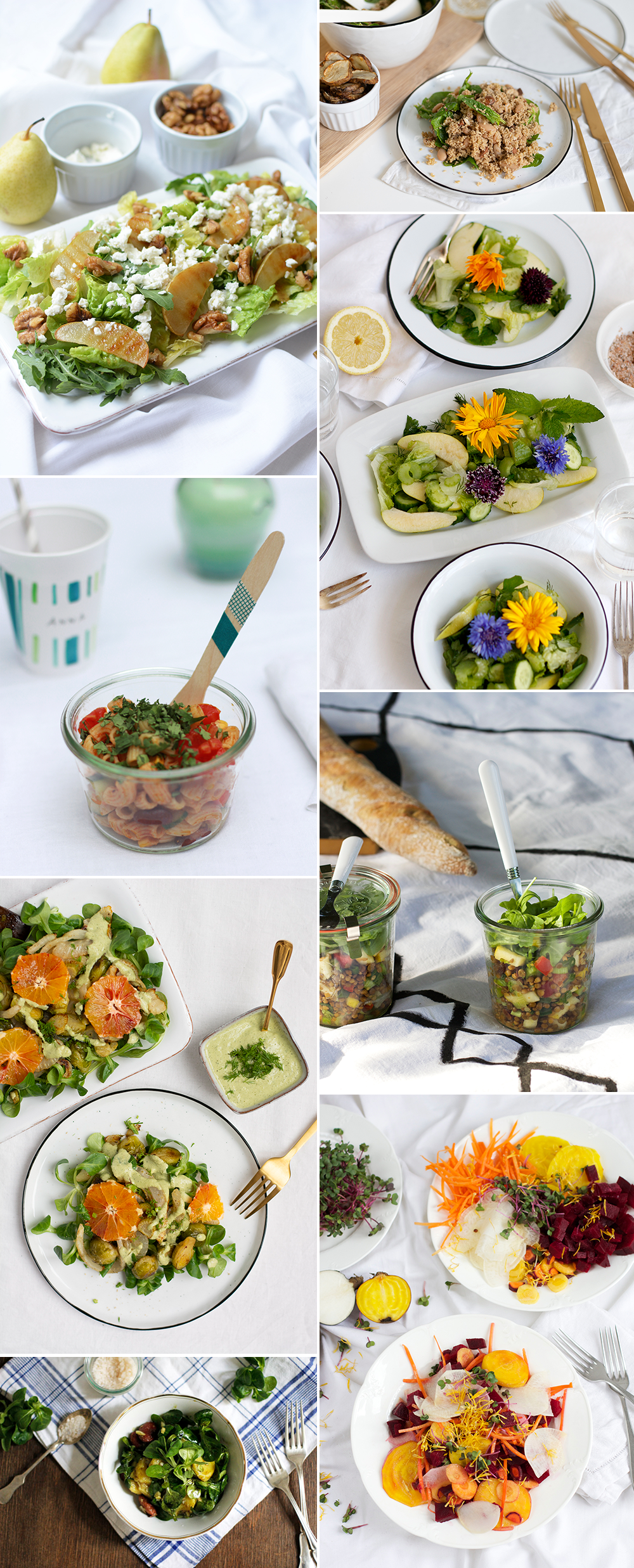 Salat-Rezepte: Inspiration | we love handmade