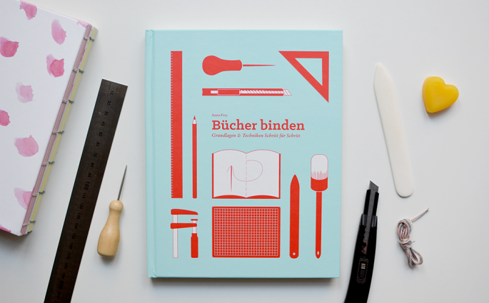 Feature: Anna Frey Bücher binden Interview | we love handmade