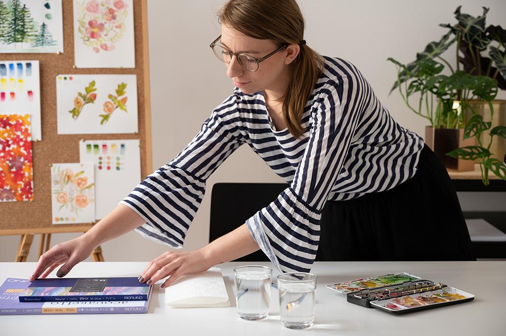 Aquarellmalerei: Onlinekurs | we love handmade