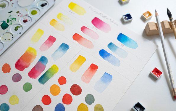 Farben mischen   we love handmade