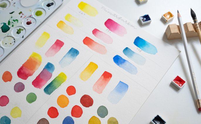 Farben mischen | we love handmade