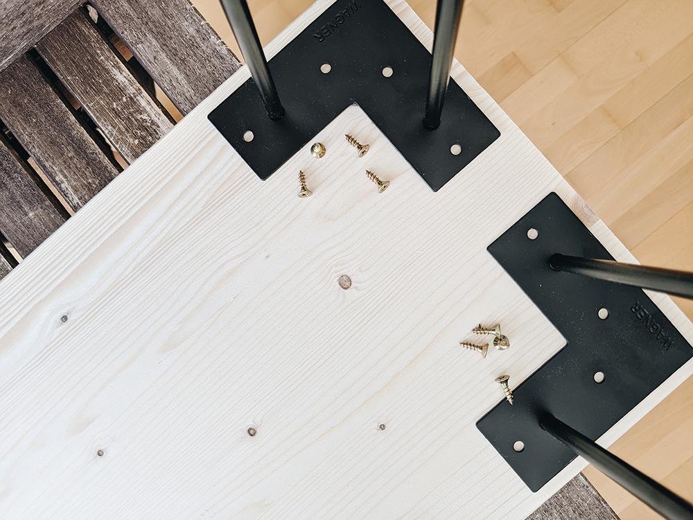 Holzbank selbermachen |we love handmade