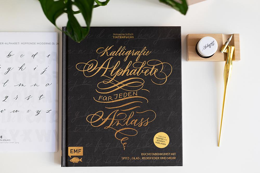Kalligrafie Alphabete Buch-Review | we love handmade